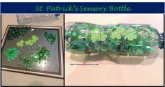 St. Patrick's Sensory Bottle