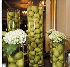 Green wedding decorations