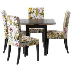 BJURSTA/HENRIKSDAL Tafel en 4 stoelen - IKEA