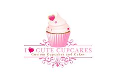 Cupcake Bakery Logo Ideas Unique Hijabista Of Cupcake Bakery Logo Ideas Fresh Bakery Logo Design Custom Logo Cupcake Logo, Cupcake Bakery, Bakery Cakes, Bakery Branding, Bakery Logo Design, Ice Cream Logo, Cake Icon, Cupcake Packaging, Arts Bakery