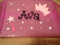 Personalized Lap Tray  Princess Design by HandPaintedNamesByMe, $20.00