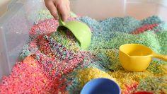 Make It: DIY Rainbow Sensory Box | eHow Mom | eHow