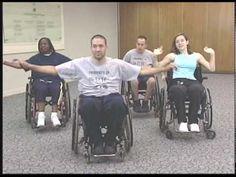Spinal Cord Injury Aerobic Workout: Tetraplegia Chair Exercises, Morning Exercises, Aerobics Workout, Aerobic Exercises, Physical Therapy, Occupational Therapy, Cardio, Spinal Cord Injury, Nutrition