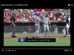 MLB® The Show™ 16 Toronto 1269 Dominic Brown [HR, 411 ft]