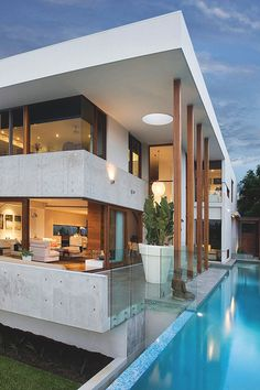 homes - Millionaire Homes Beautiful Architecture, Interior Architecture, Australian Architecture, Millionaire Homes, Architect Design, Modern House Design, Exterior Design, Luxury Homes, Beautiful Homes