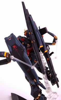 MG 1/100 RX-93 Nu Gundam - Customized Build     Images via blog.naver.com