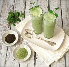 Iced Matcha Green Tea Latte Recipe