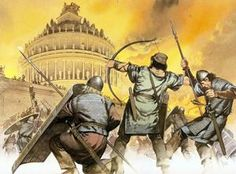 536 – Gothic War: The Byzantine general Belisarius enters Rome unopposed; the Gothic garrison flee the capital.