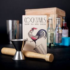 The 'cocktail' was once an artful embellishment of a fine spirit.  This crate brings it back.