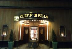 Cliff Bells: Swanky, restored art deco club serves creative, eclectic fare with live jazz on stage nightly. Live Jazz, Entrance Ways, Jazz Club, Cliff, Gates, Detroit, Michigan, Restoration, Stage