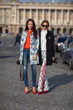 Paris Street Style, by Diego Zuko for Harper's Bazaar