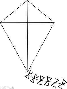 Kite Coloring Pages Images