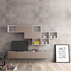 Modern design Tv media unit 'Minimalist' by Morassutti by myitalianliving http://discoverdmci.com