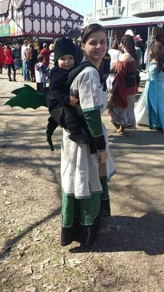 Dragon babywearing costume