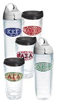 College Fundraising made easy with Tervis' line of Sorority & Fraternity Tumblers & Water Bottles!