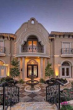 An Opulent Mediterranean Mansion In Lewisville, TX | Elegant Residences