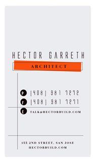 chocomocacino // The Typography Business Card Challenge