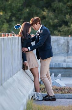 Scene from new K.Drama 'The Heirs' Heirs Korean Drama, The Heirs, Korean Dramas, Korean Actresses, Korean Actors, Actors & Actresses, Park Shin Hye Heirs, Lee Young Suk, Lee Min Ho Kdrama