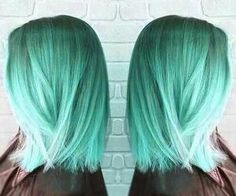 #bluegreenhair