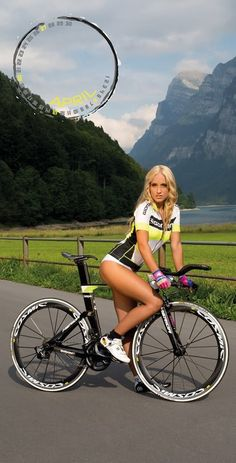 Beauty & Bicycles, and Beautiful Scene behind them too.