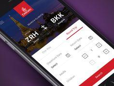 Emirates Flight Booking App by Faria Anzum✈