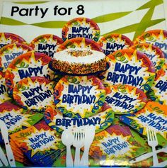 Happy Birthday Party Pack for 8 Creative Converting http://www.amazon.com/dp/B00BEK2H2Y/ref=cm_sw_r_pi_dp_qTW8wb1KRP9WN
