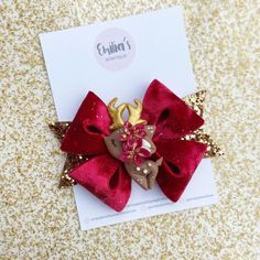 Excited to share this item from my shop: Floral Rudolph Hair Bow, Christmas Hair Bow, Christmas, Girls Hair Bow, Baby Girl Headband Ribbon Hair Bows, Girl Hair Bows, Baby Girl Headbands, Christmas Girls, Christmas Hair Bows, Disney Hair Bows, Halloween Hair Bows, Handmade Hair Bows, Felt Bows