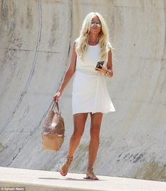 Victoria Silvstedt looked stunning as she enjoyed a sun drenched trip to Monaco on Sunday Victoria Silvstedt, Female Stars, Style Watch, Fitness Weightloss, Sun Kissed, Looking Stunning, Feminine Style, Mail Online, Daily Mail