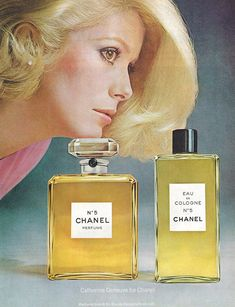 Catherine Deneuve, Vintage Perfume, Vintage Chanel, Vintage Ads, Vintage Makeup, Vintage Beauty, Vintage Advertisements, David Bailey, Christian Vadim