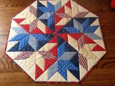 For the Fourth Tabletop Quilt made by Kami Reyes.