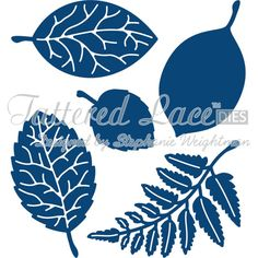 Tattered Lace Die Leaves