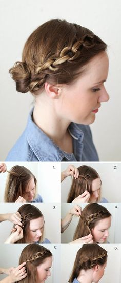 How to : A Chain Braid Style