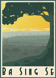Avatar: The Last Airbender Travel Posters
