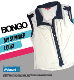 Blusa sin mangas, tan casual o informal como tú quieras, todo está en tu actitud y tu outfit Bongo. De venta en Walmart México.