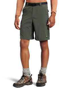 61c98d124 Columbia Mens Silver Ridge Cargo Short Gravel 36x12 -- Click on the image  for additional