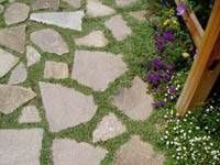 How to Make a Patio Floor With Recycled Concrete Slab