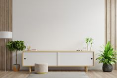 Minimalist Nightstand, Minimalist Desk, Modern Minimalist Living Room, Classic Living Room, Living Room Tv, Minimalist Bedroom, Modern Bedroom, Interior Design Living Room, Living Room Designs
