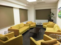 いつもとは違う新しいスタイルの会議室もあります。テナントじゃなくてもご利用できます!