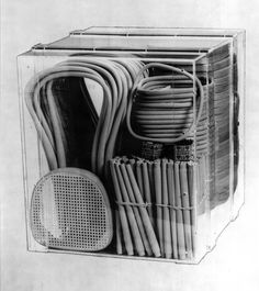 Thonet No 14  packed for shipping; photo by Thonet, sometime between 1890-1930
