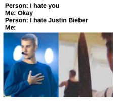 i hate it when they talk trash about Justin