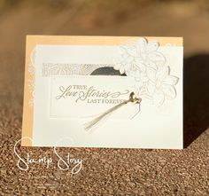 Created by Robyn Lawton   Stamp Story, In Australia with Stampin'Up! Elegantly Said Stamps