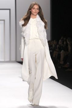 Winter White at J. Mendel RTW Fall 2012