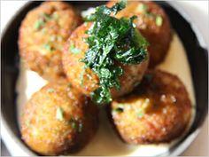 Delish Turkey and Prosciutto Croquette Recipe courtesy of Fig of Santa Monica.