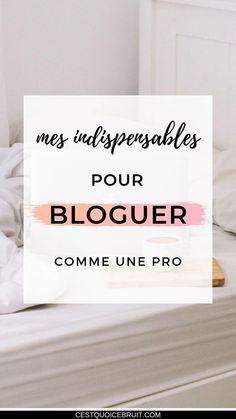 Mes indispensables pour bloguer comme une pro #bloguer #blogueuse #blogging #photo #contentcreator
