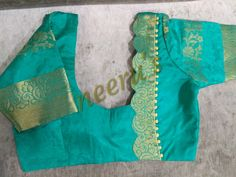 Pattu Saree Blouse Designs, Simple Blouse Designs, Stylish Blouse Design, Blouse Back Neck Designs, Fancy Blouse Designs, Designer Blouse Patterns, Sarees, Nike, Work Blouse