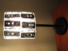I like this cassette tape lamp the most!