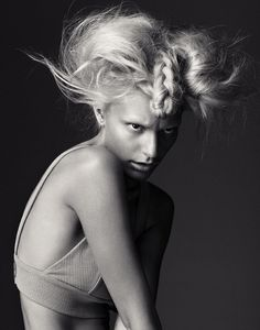 Christina Dietze shot by Duncan Killick in culture Magazine