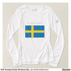 NJF Sweden Pride Workout Sleeve Tee
