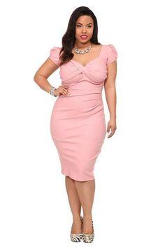 Plus size date night dress