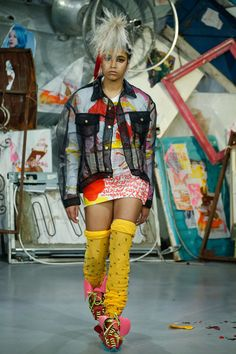 Meadham Kirchhoff Spring 2015 collection